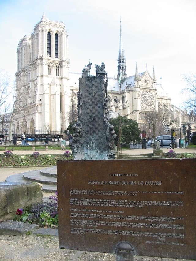 Fontaine St Julien le pauvre