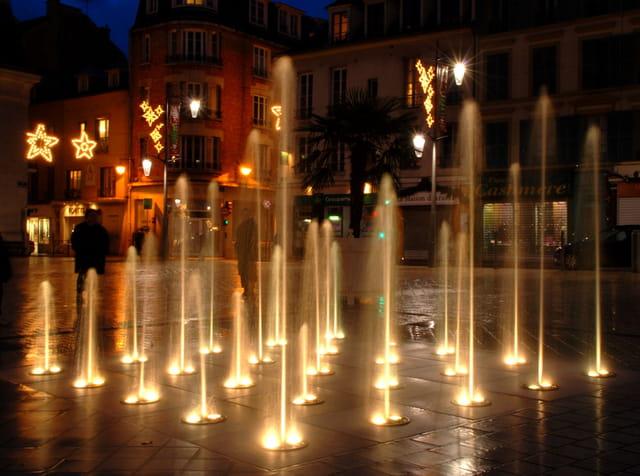 Fontaines dorées
