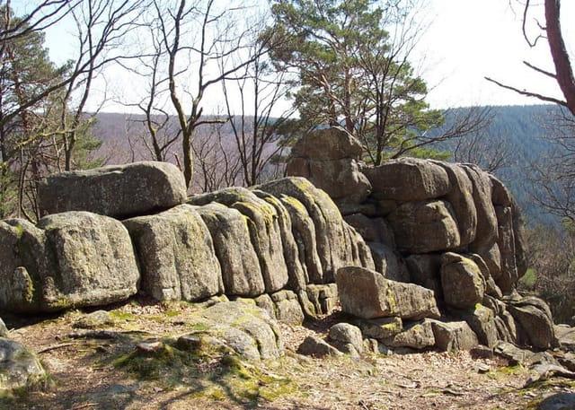 Forêt au duc , la roche aux fées