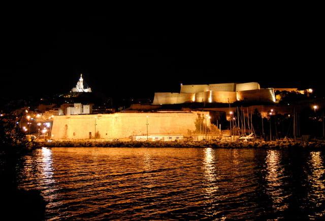 Fort St Nicolas & Notre Dame de la Garde
