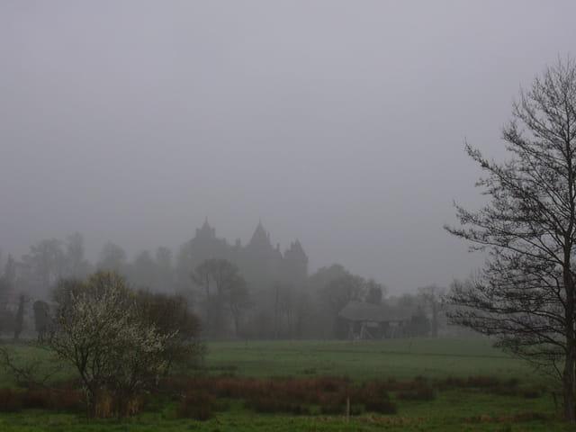 Forteresse dans la brume
