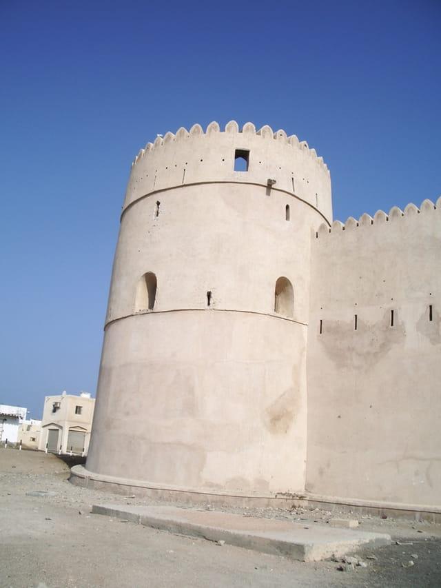 Fortification à Barka