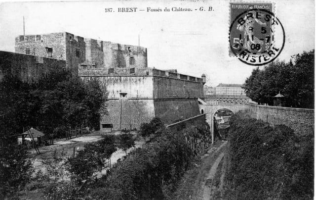 Fossés du Château de Brest