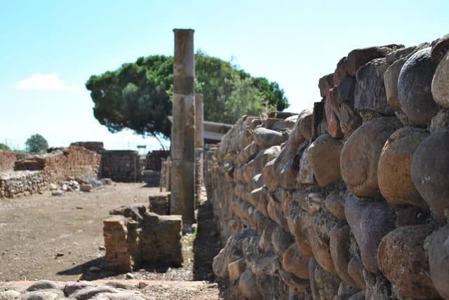 Fouilles romaines