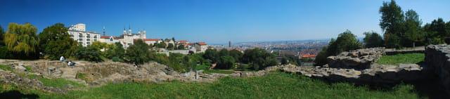 Fourvière avec vue sur Lyon