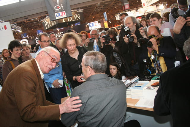 François Léotard au Salon du livre