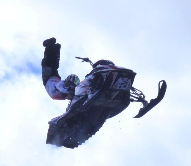 Freestyle en motoneige