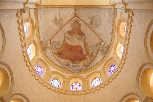 Fresque à l'interieur de la basilique