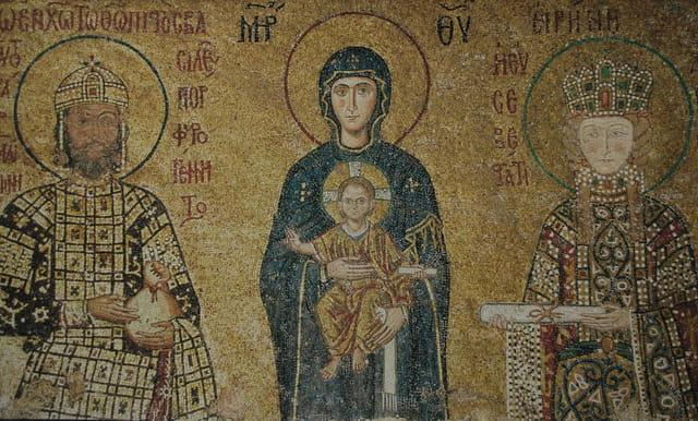 Fresque à Sainte-Sophie