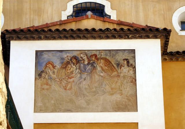Fresque de l'école la providence