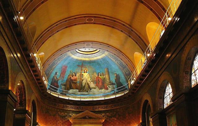 Fresque (église St Louis d'Antin à Paris