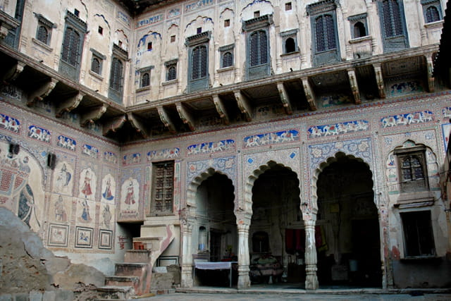 Fresques d'une haveli