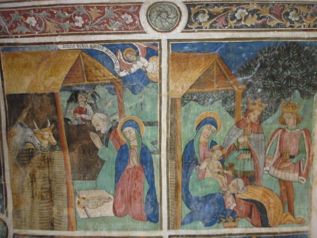 Fresques du 15e siècle