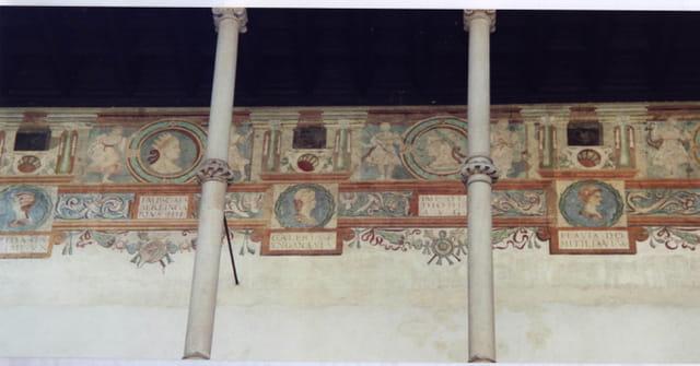 Fresques du château de Wawel