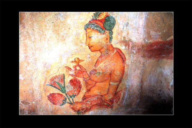 Fresques palais de sigiriya