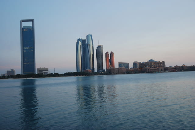 front de mer à Abu Dhabi