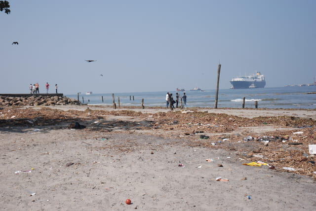 front de mer de Cochin