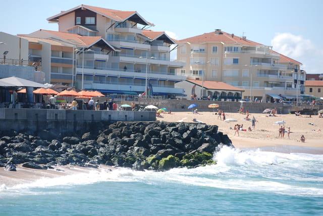 front de plage