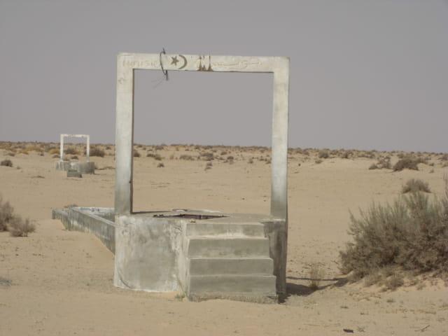 Frontière tunisienne et algerienne