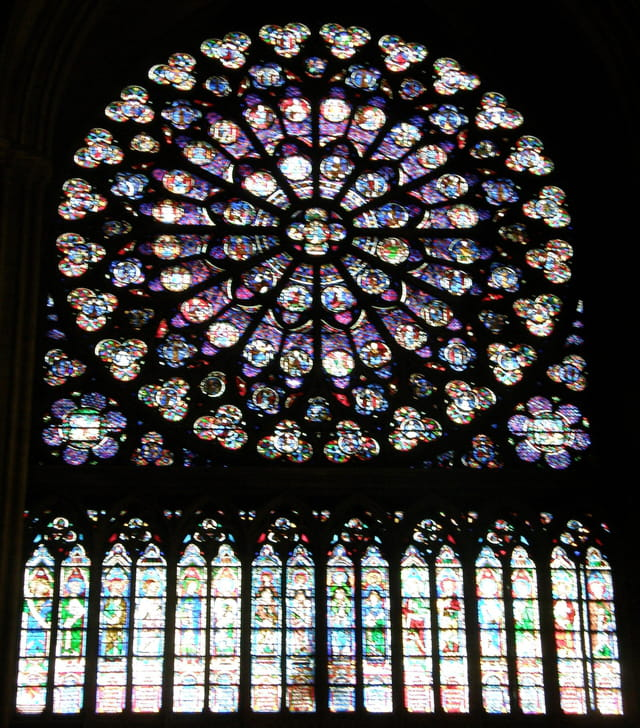 Rosace Sud de Notre-Dame