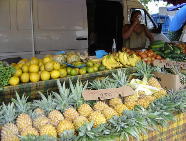 Fruits des tropiques