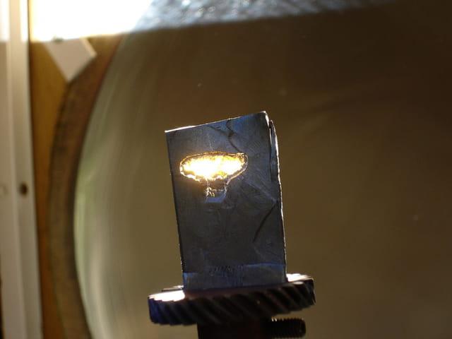 Fusion solaire du plomb
