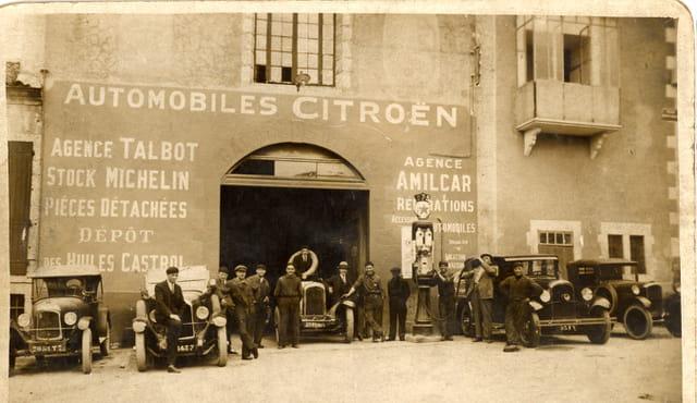 Garage du sud-ouest 1932