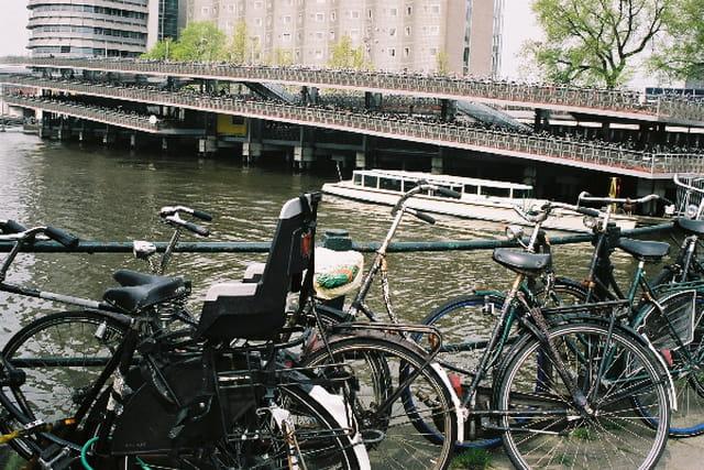 Garages à vélos à Amsterdam