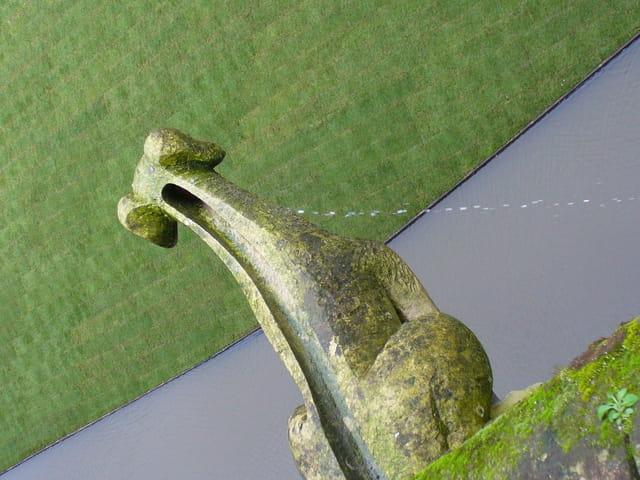 Gargouille en pleurs