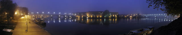 Garonne dans la Brume