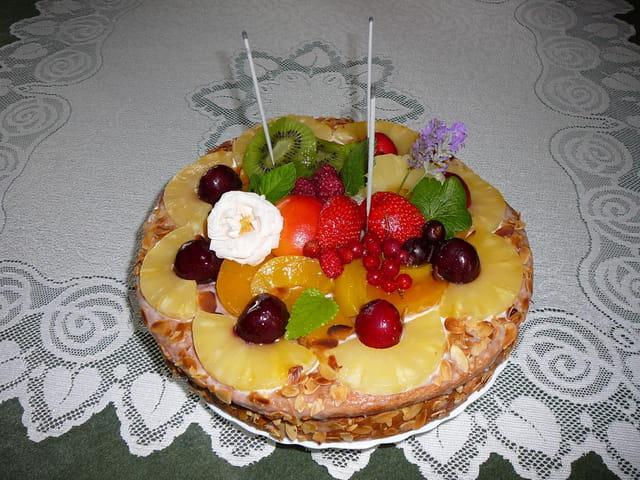 Gâteau d'anniversaire maison