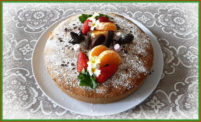 Gâteau dominical maison pour le goûter des petites-nièces