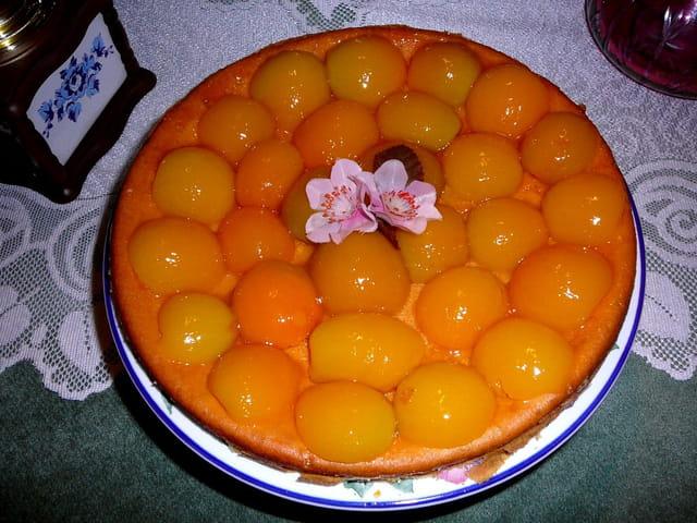 Gâteau du dimanche aux abricots