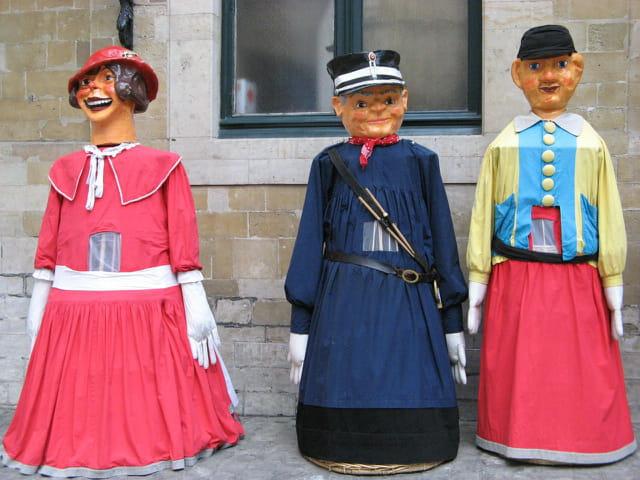 Géants de la ville de Bruxelles