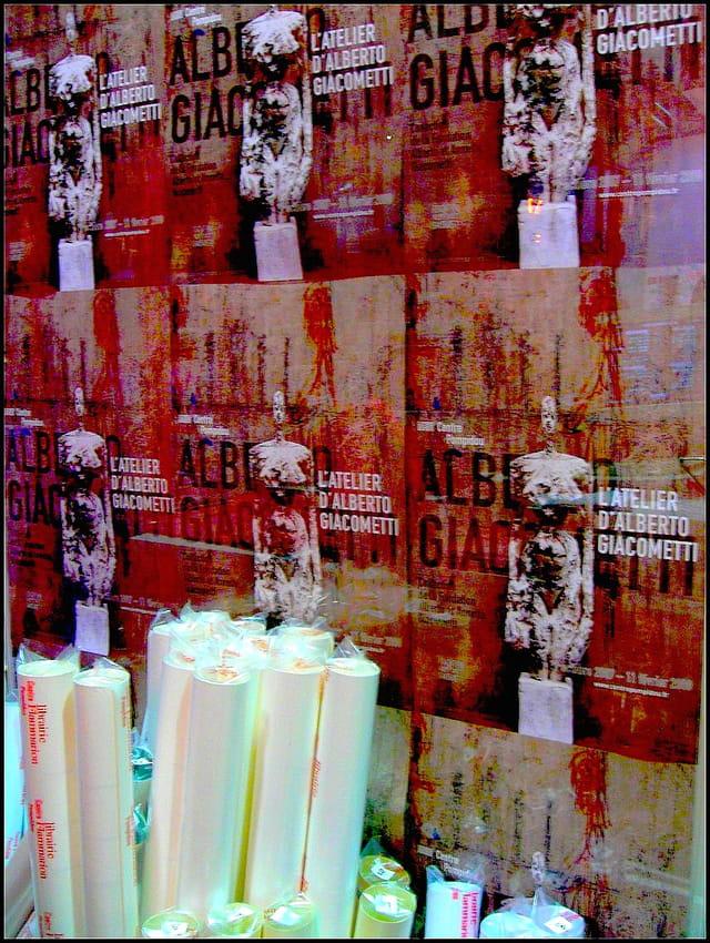Giacometti en affiches