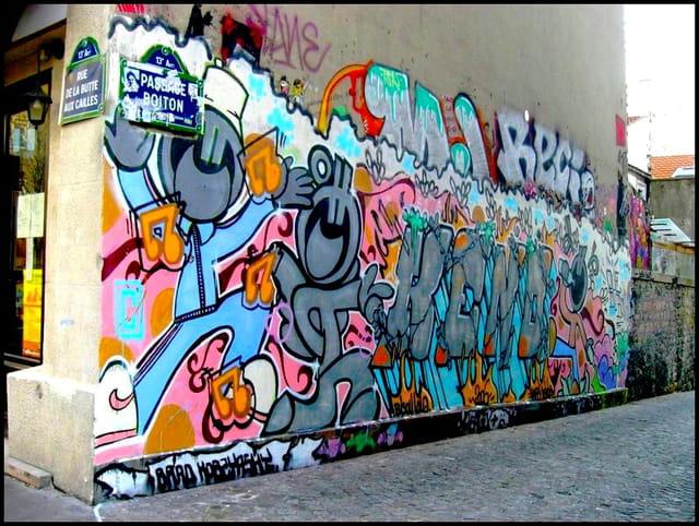 Graff quartier Butte-aux-cailles