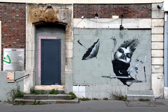 Graff' rue de L'Ourcq