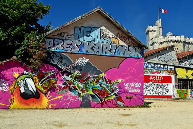 Graffiti du Gabut, La Rochelle