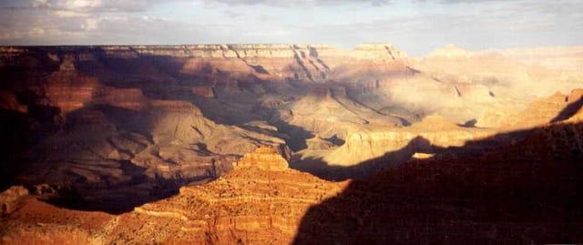 Grand canyon sous le soleil