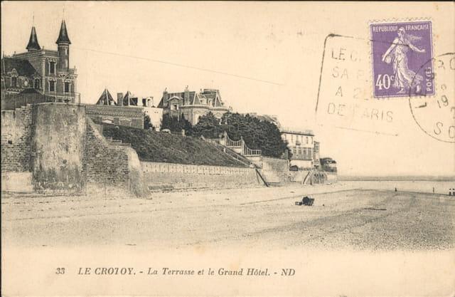 Grand hotel et terrasse