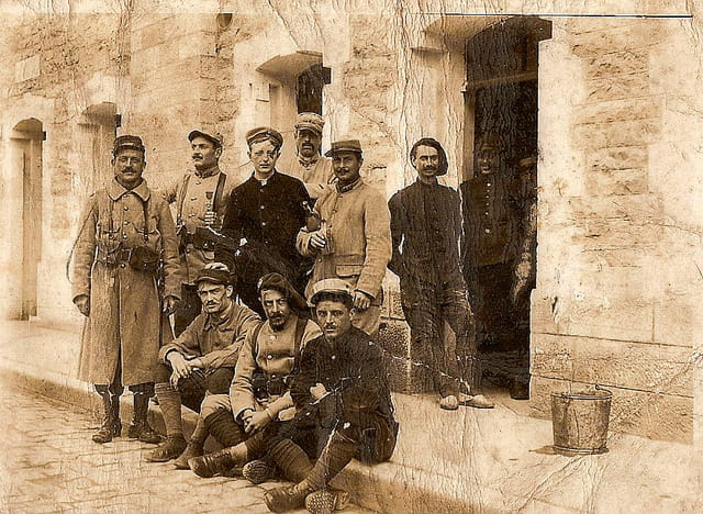 Grand-père et ses compagnons