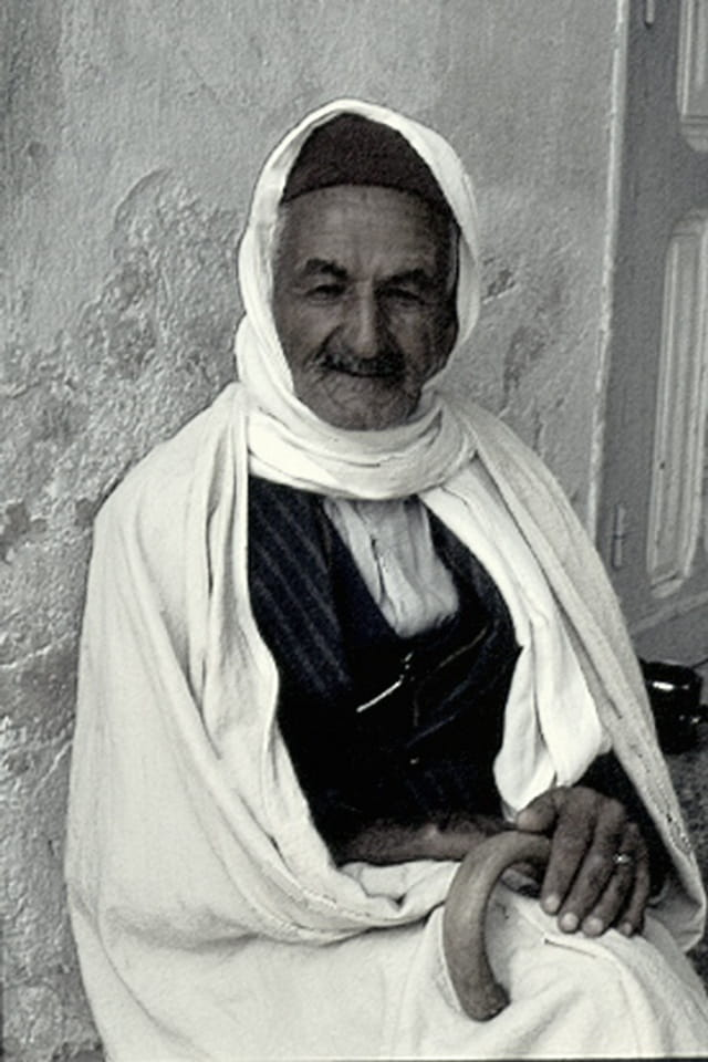 Grand-père tunisien