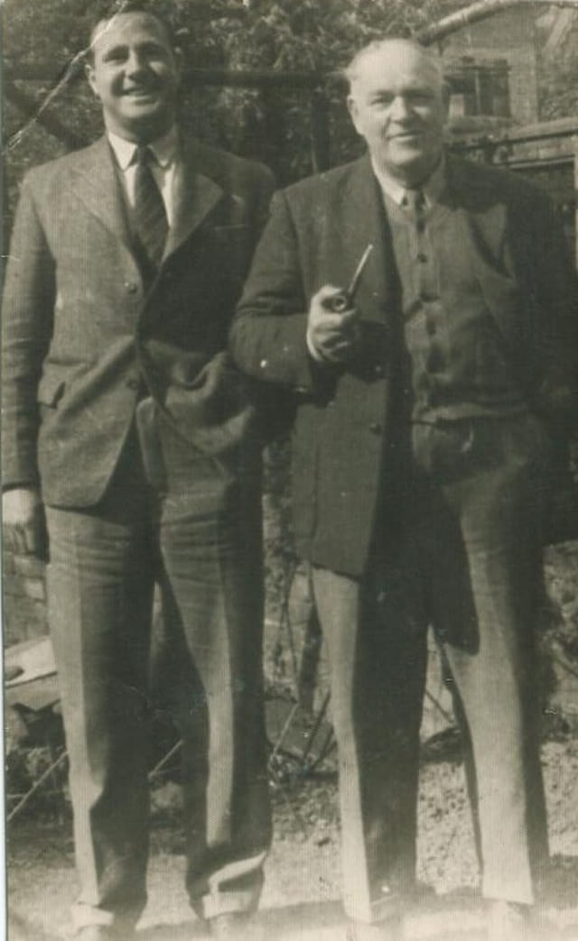 Grandad and uncle bernard