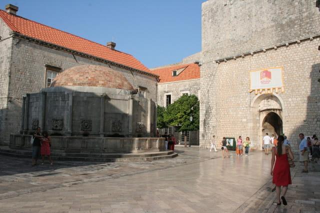 Grande fontaine de Dubrovnik
