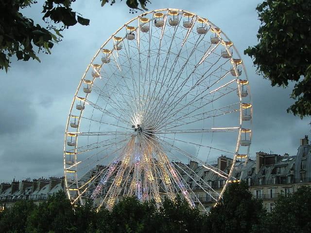 Grande roue 50 mètres