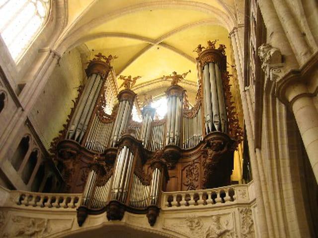 Grandes orgues st bénigne