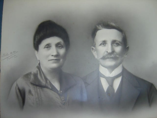 Grands parents paternels