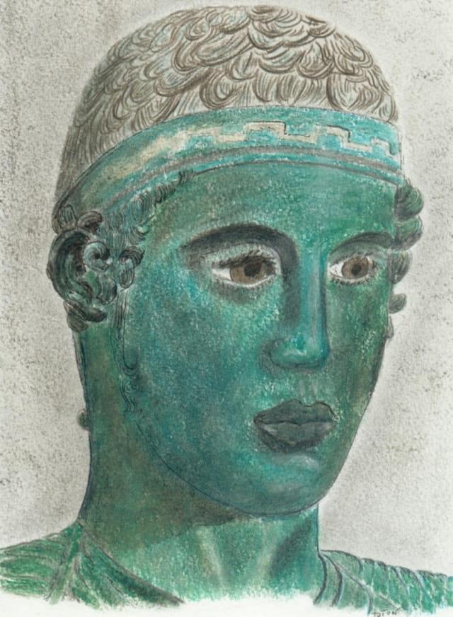 Grèce - l'aurige de delphes