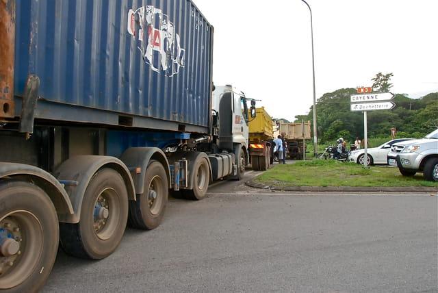 Grève en Guyane