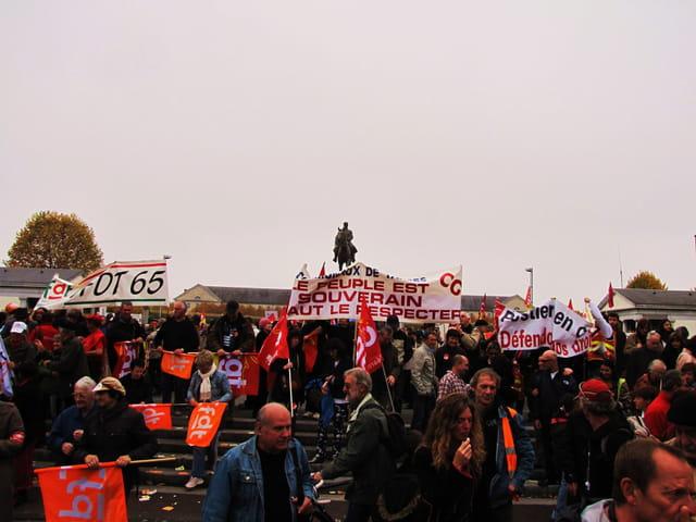 Greves et manifestations.